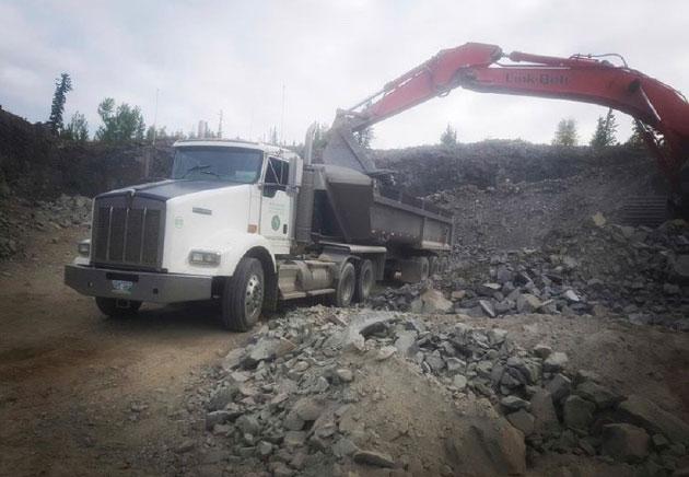 Truck Loading Dirt