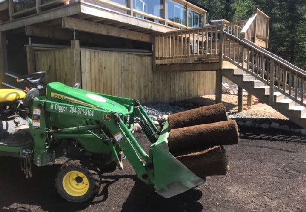 Tractor Landscaping